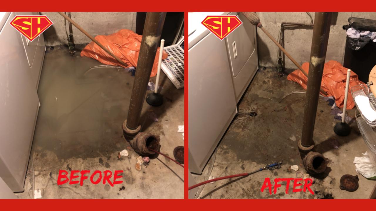 The Hamptons sewer backup repair