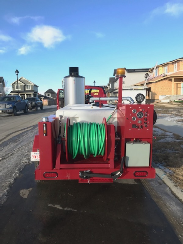Commercial Hydro-Jetting & Steaming